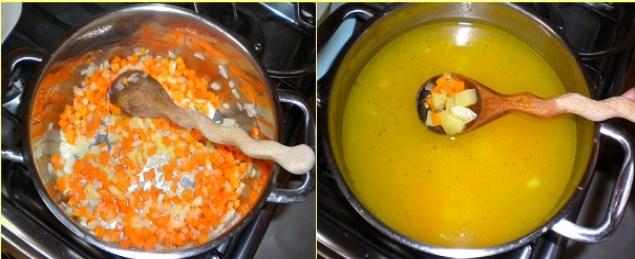 Sopa de Jamón y Repollo