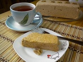 Torta de galletas con manjar y crema (facil y sin cocción)