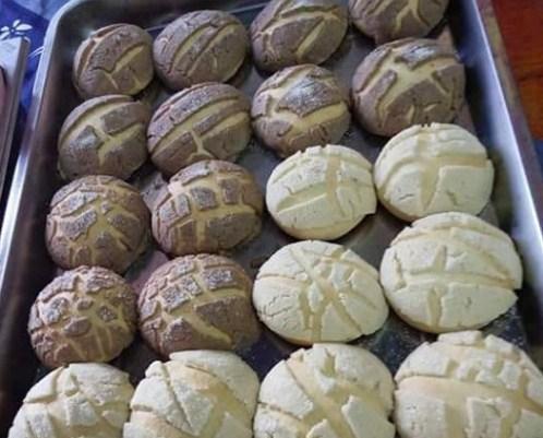 Receta de unas conchas de harina para el cafe