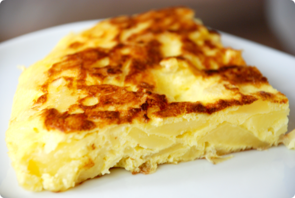 Tortilla de patatas thermomix