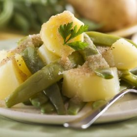cómo cocinar judías verdes con patatas