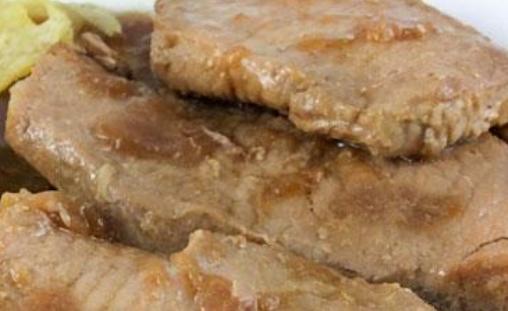Lomo de cerdo en salsa