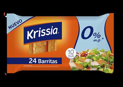 Angulas Aguinaga lanza las barritas bajas en calorias Krissia 0%
