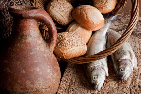 los alimentos en la biblia