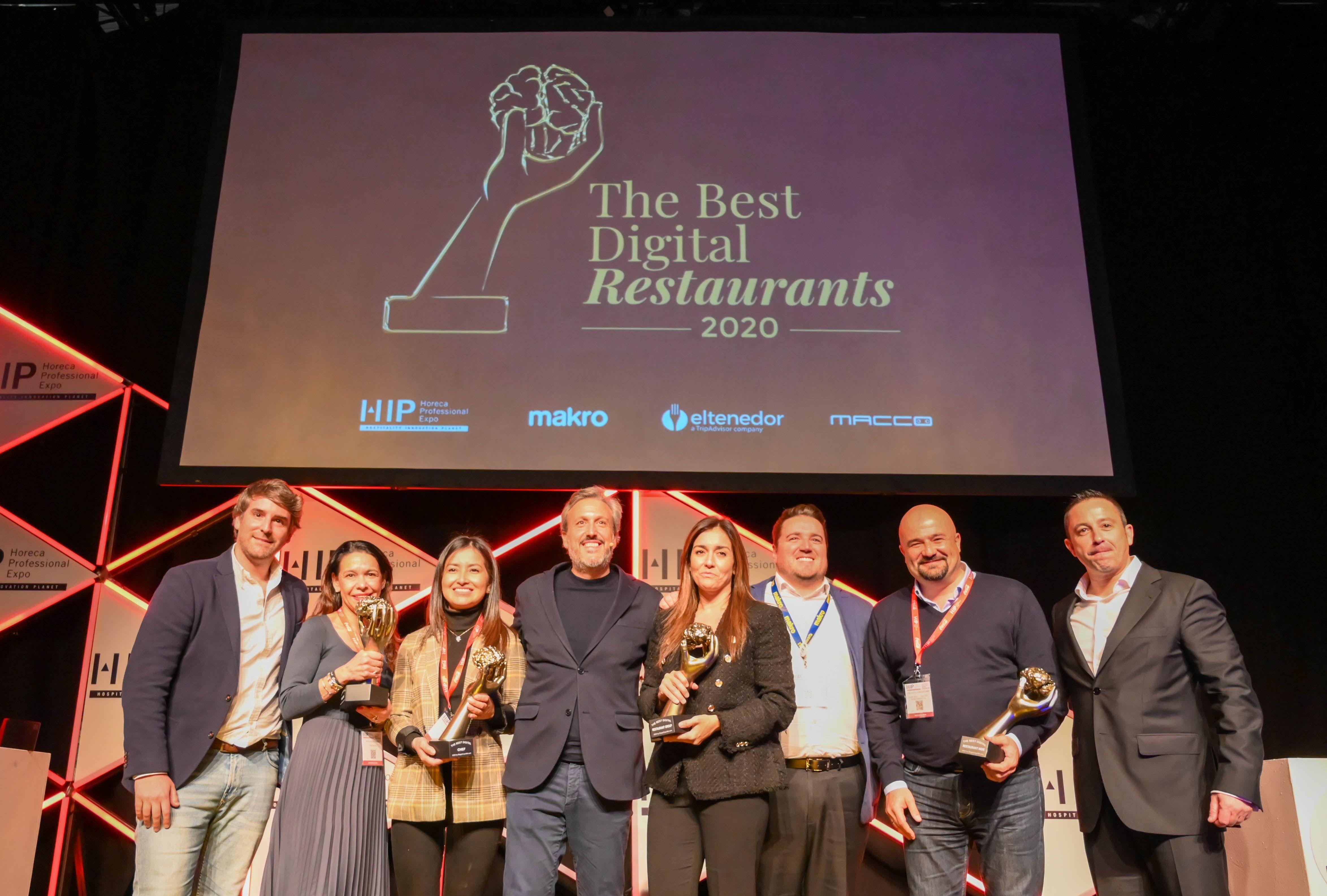 Jordi Roca, Iratxe Miranda, McDonald's y Heart Ibiza ganan los premios The Best Digital Restaurants 2020