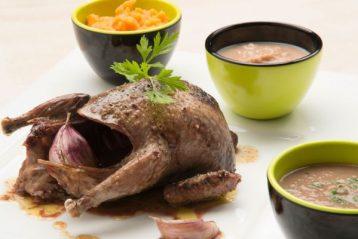 cómo preparar carne de palomas