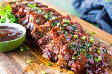 costilla de cerdo al horno receta