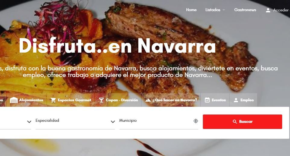 Comermuybien.com se renueva para convertirse en el buscador de restaurantes y hoteles en Navarra