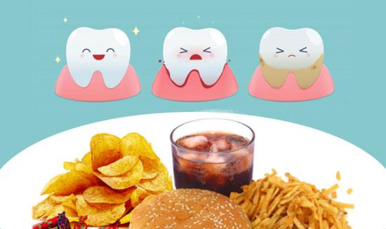 que no comer para no tener caries